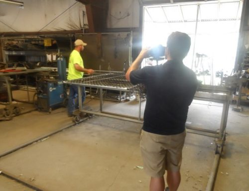 Video Shoot Highlights Hand Crafted Metal Gates