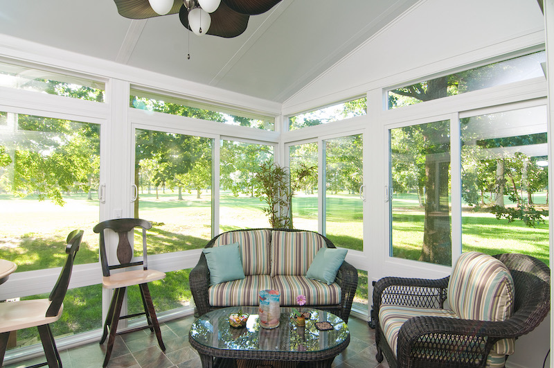 St. Louis Sunroom interior